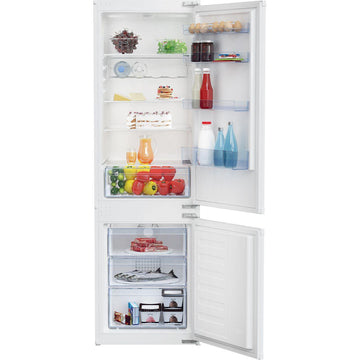 Beko BCFD373 Integrated 70/30 Frost Free Fridge Freezer - White - A+ Rated