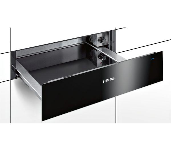 Siemens BI630CNS1B iQ700 14cm High Warming Drawer - Stainless Steel