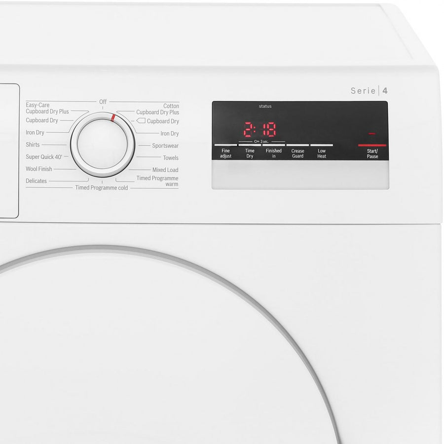 Bosch WTA79200GB Vent Tumble Dryer, 7kg Load, C Energy Rating, White