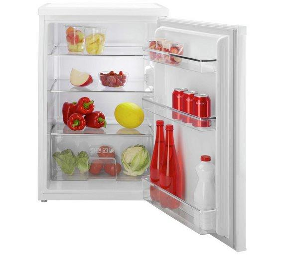Candy CCTL582WK 55cm Wide Freestanding Larder Fridge - White