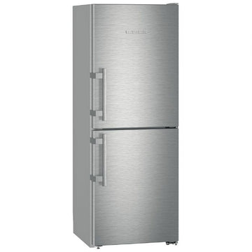 Liebherr CNef3115 260 Litre Freestanding Fridge Freezer 50/50 Split Frost Free 60cm Wide - Stainless Steel