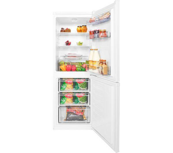 Beko CSG3571W Freestanding Fridge Freezer In White - A+ Rated