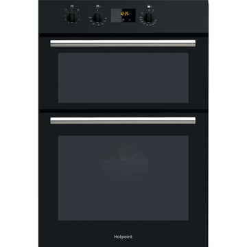 Hotpoint DD2540BL Newstyle Electric Built-in Double Oven in Blak