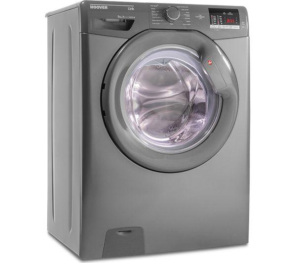 HOOVER Link DHL 1492DR3R NFC 9 kg 1400 Spin Washing Machine - Graphite