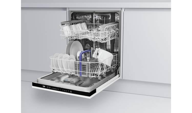 Beko DIN15311 Full size 13 Place Setting Integrated 60 cm Dishwasher - A+ Rated