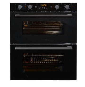 NordMende DOU313BL Under-Counter Multifunction Double Oven In Black - Free 3yr Parts & Labour Warranty On Registration