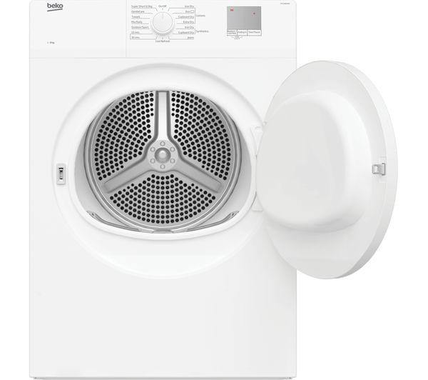 Beko DTGV8000W Freestanding 8kg Vented Tumble Dryer-White