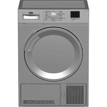 Beko DTLCE70051S 7Kg Condenser Tumble Dryer In Silver