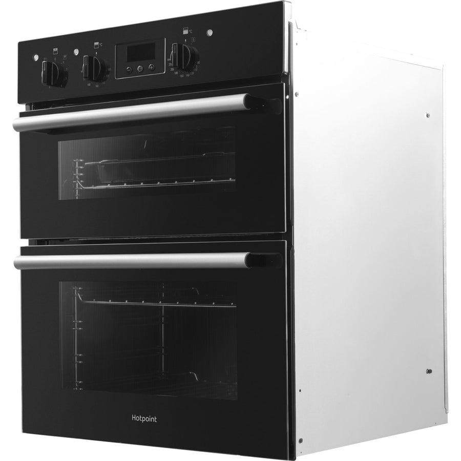 Hotpoint DU2540BL Electric Built-under Double Oven Black -