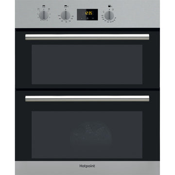 HOTPOINT DU2540IX Electric Built Under Double Oven - Stainless Steel