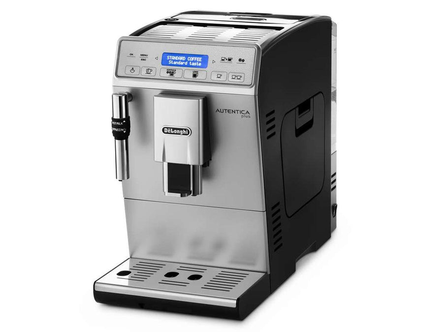 De______Longhi Autentica Plus ETAM 29.620.SB Bean-to-Cup Coffee Maker, Silver/Black
