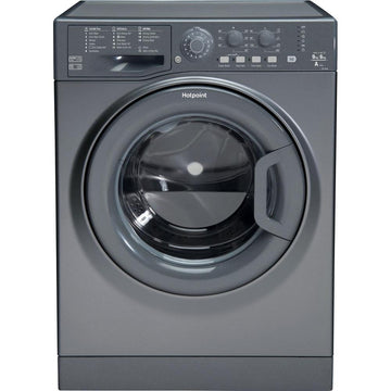 Hotpoint Aquarius FDL9640G 9kg Wash 6kg Dry 1400 Spin Washer Dryer - Graphite