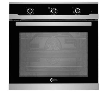 Flavel FLS62FX 60cm Built-in Single Fan Oven-Stainless Steel - A energy rating