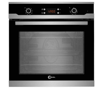 Flavel by Beko - FLS65FX Single Multifunction Oven with Free 2yr Parts & Labour Warranty