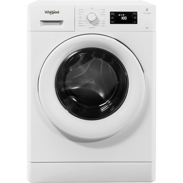 Whirlpool FWG81496W 8Kg Washing Machine In White - A+++ energy rating