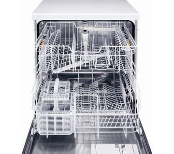 Miele G4263VI Fully Integrated Dishwasher, White / Stainless Steel