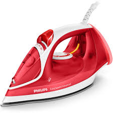 Philips GC2672 EasySpeed Advanced Iron with 180g Steam Boost, 2300W & Ceramic Soleplate – Red