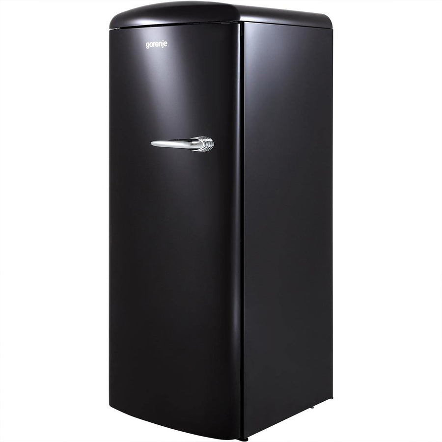 Gorenje ORB153BK-L retro collection fridge with icebox - left hand hinge.