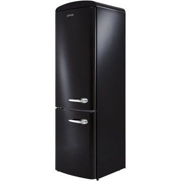 Gorenje ORK193BK Retro Fridge Freezer in Left Door Hinge with Free 2yr Parts & Labour Warranty