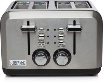 Haden 183477 Perth Stainless Steel 4 Slice Toaster