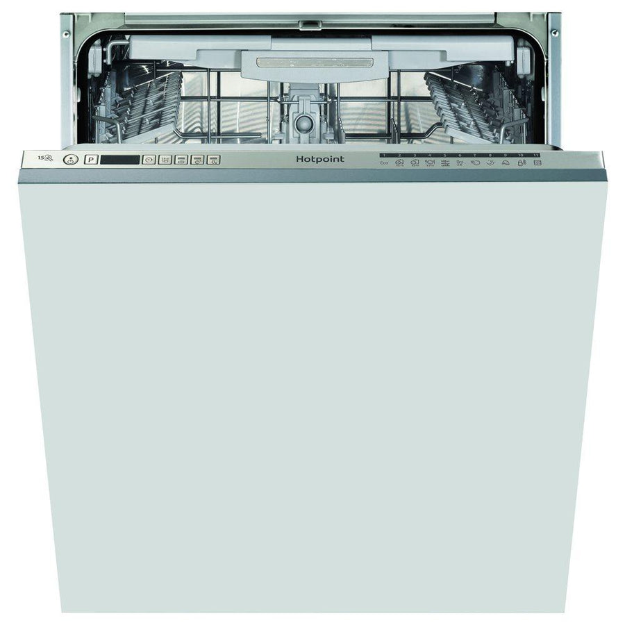 Hotpoint Ultima HIO3P23WLEUK Fully Integrated Standard Dishwasher - Stainless Steel Control Panel - Reduced to £399 (Was £439)
