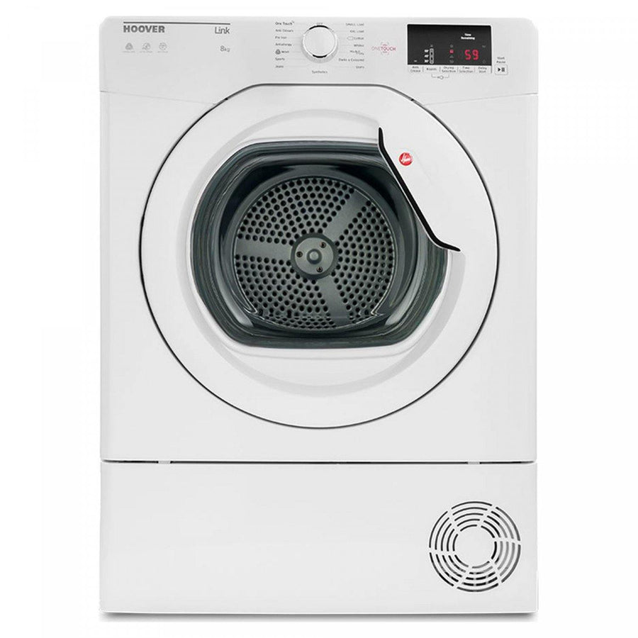 Hoover HLC8DG Condenser Tumble Dryer White - 8 kg capacity