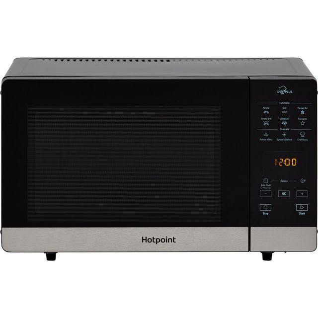 Hotpoint CHEFPLUS MWH2734B Freestanding 25 Litre Combination Microwave Oven In Black