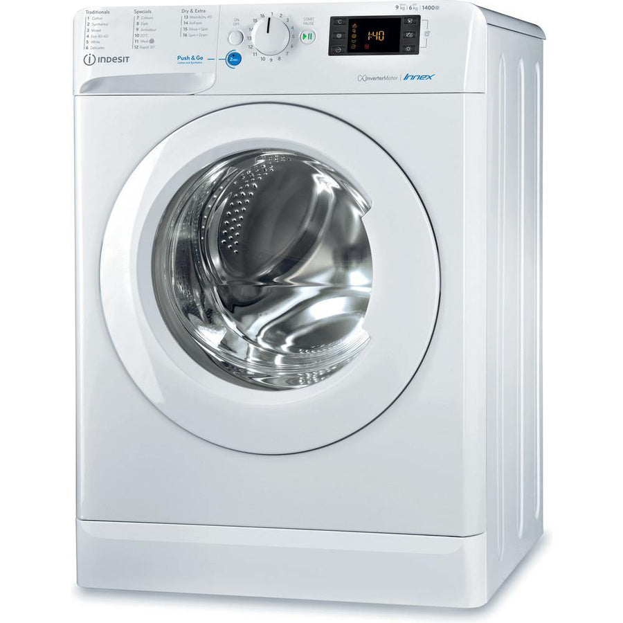 Indesit BDE961483XWUKN Innex Washer Dryer 9kg Wash and 6kg Dry 1400 rpm