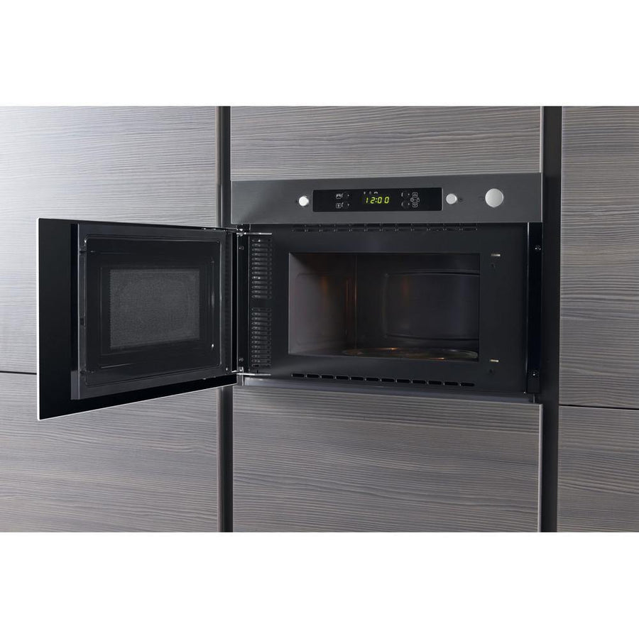 Whirlpool AMW423IX Built In 22 Litres Microwave - Stainless Steel