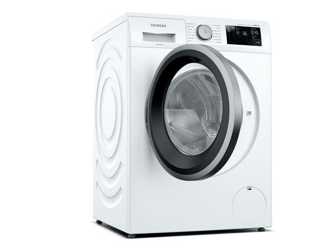 Siemens WM14UQ91GB IQ-500 9Kg Washing Machine with 1400 rpm - White - A+++ Rated
