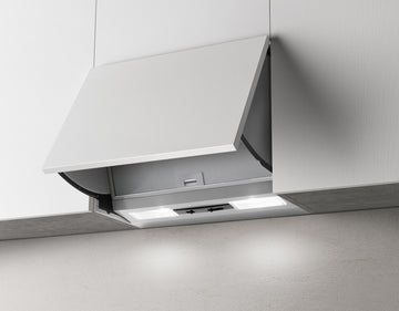 Elica E120GR 60cm Single Motor Integrated Cooker Hood/Extractor Fan