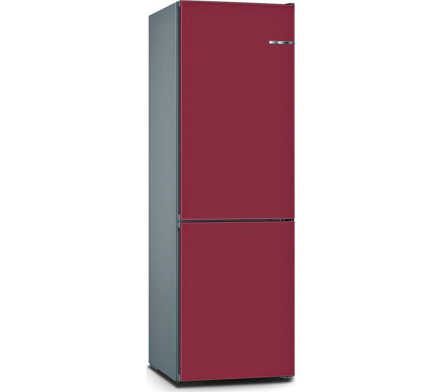 Bosch Serie 4 Vario Style KGN36IJ3AG 60/40 Fridge Freezer - in Raspberry -