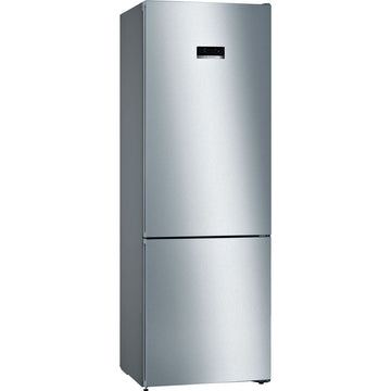 Bosch KGN49XLEA freestanding fridge freezer in Inox