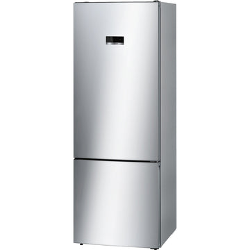 Bosch Serie 4 KGN56XL30 60/40 Frost Free Fridge Freezer - Stainless Steel Effect * £150 Cashback