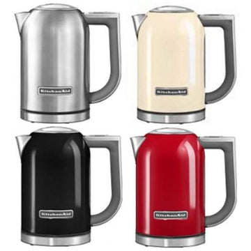 KitchenAid 5KEK1722B 1.7ltr Jug Kettle - Available in Stainless Steel, Cream or Red from £99