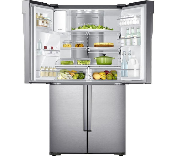 Samsung RF56J9040SR 482L Frost Free American Freestanding Fridge Freezer - Stainless Steel - Free 5yr P&L Warranty (T&C Apply)