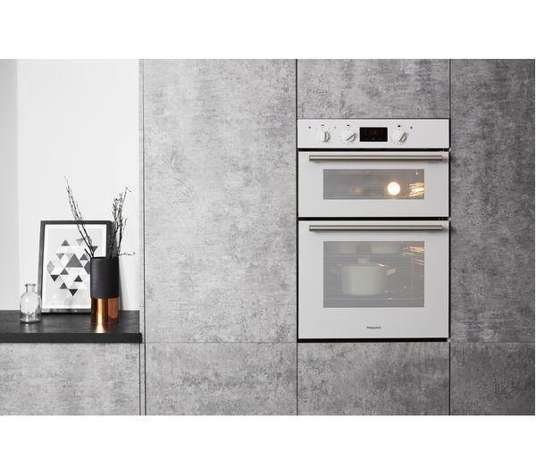 Hotpoint DD2540WH Electric Built-in Double Oven In White