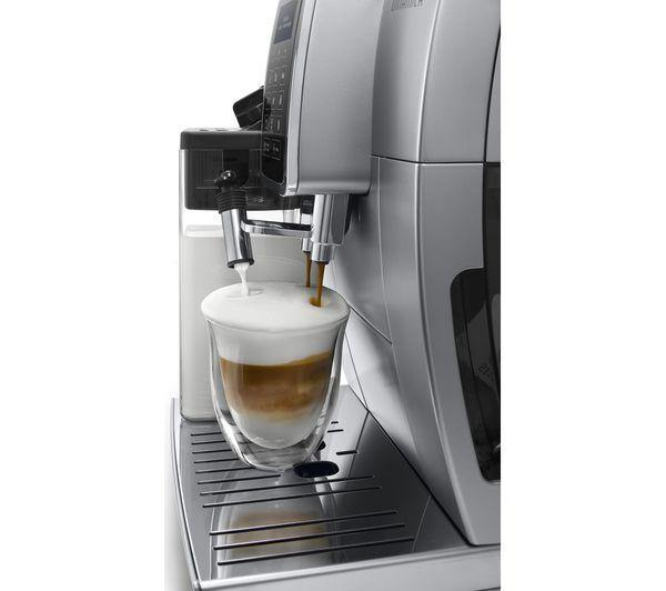 DELONGHI Dinamica ECAM350.75S Bean to Cup Coffee Machine - Silver