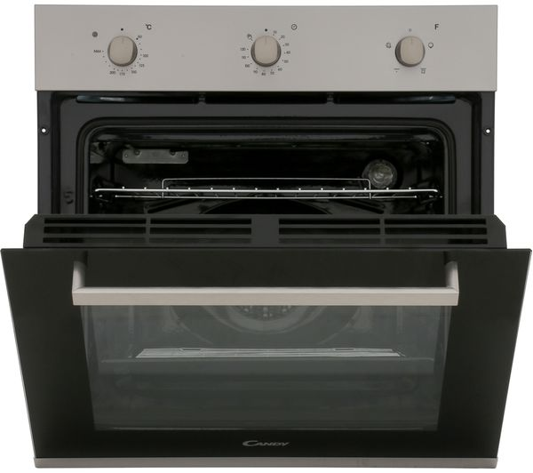 Candy FCP403X Stainless Steel Electric Built-in Single Oven