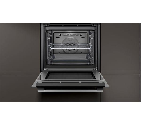 Neff B1GCC0AN0B Built-In Oven With CircoTherm - Stainless Steel