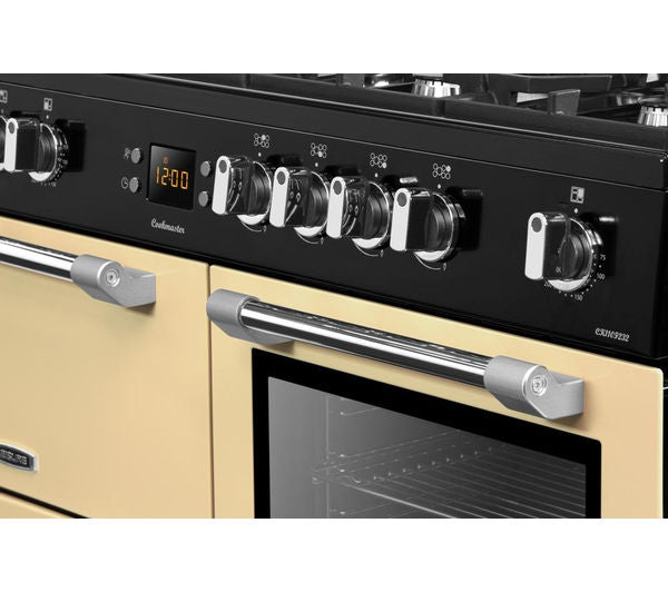 Leisure CK110F232C Cookmaster  110cm Dual Fuel Range Cooker - Cream - A Rated