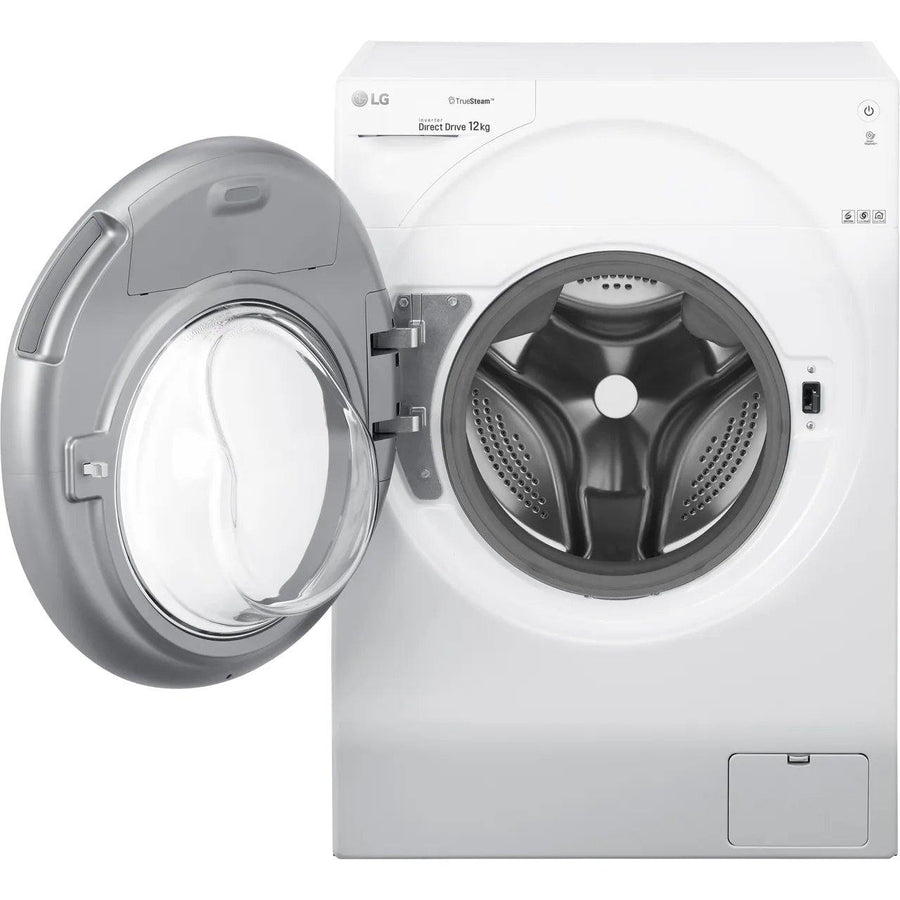 LG FH4G1BCS2 WiFi-enabled TrueSteam Direct Drive 12 kg 1400 Spin Washing Machine - 5 Year Warranty - Free Immediate Delivery