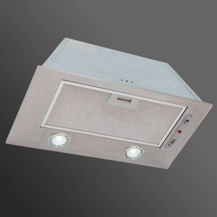 Luxair LA74-CAN-SS 74cm Canopy Hood in Stainless Steel, LED Lights