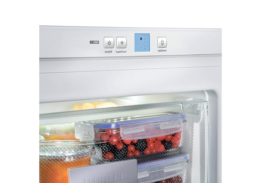 Liebherr GP2733 Freestanding Freezer, A++ Energy Rating, 60cm Wide, White