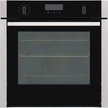 Neff B6ACH7HN0B Slide and Hide Pyrolytic Built-In Single Oven, Stainless Steel