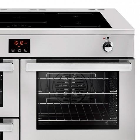 Belling Cookcentre 110EIPROFSTA 110cm Electric Induction Range Cooker - Stainless Steel