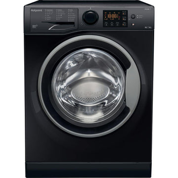 Hotpoint RDG9643KS 9kg/ 6kg Washer Dryer In Black - A Rated