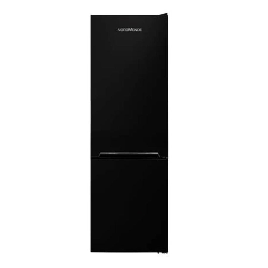 NordMende RFF60403BL 170x54cm Low Frost Freestanding Fridge Freezer In Black - Free 3yr Parts & Labour Warranty On Registration