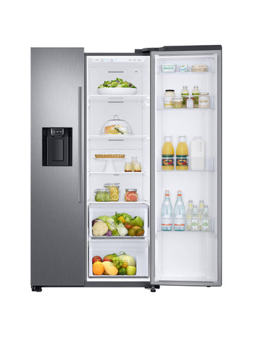 Samsung RS67N8210S9 No Frost Side-by-side Fridge Freezer With Ice And Water Dispenser in Grey with Free 5 yr Parts & Labour Warranty on Registration (T& C Apply)