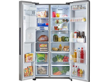 Samsung RS68N8240S9 side-by-side Fridge Freezer in a matt Stainless Steel finish -with Free 5 yr Parts and Labour Warranty